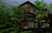 The Eco-hotel in the middle of the Ecuadorian rainforest.