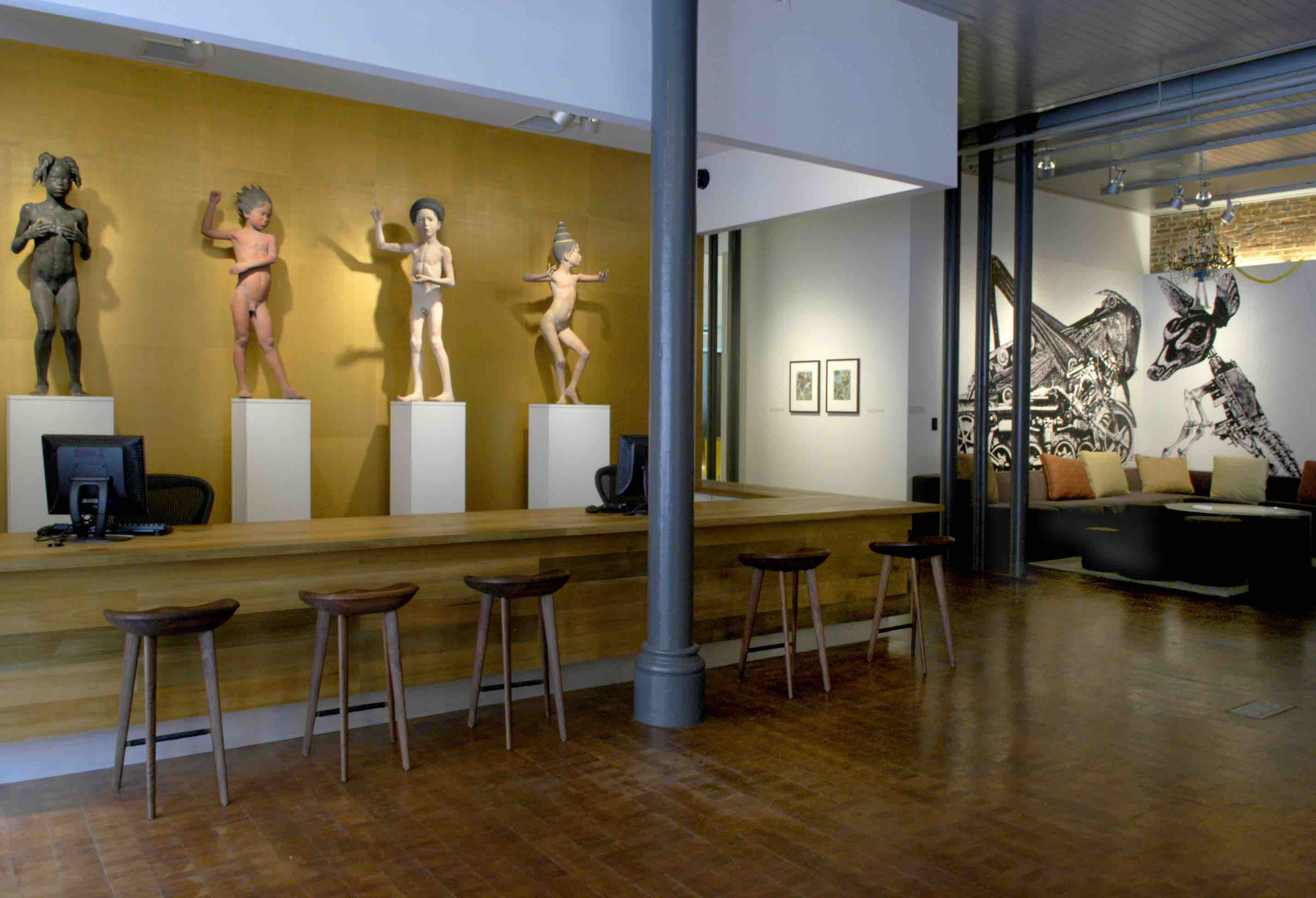 Conceived by Steve Wilson and Laura Lee Brown as part of an urban renewal project to protect Kentucky farmland from Louisville's suburban sprawl, 21c Museum Hotel Louisville - is part contemporary art museum, part boutique hotel.