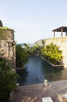 Your very own private pool at your villa at Imanta Resort2