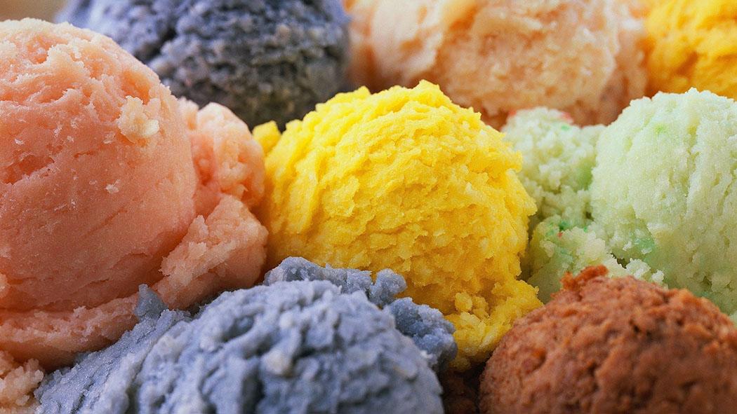 ice cream slider
