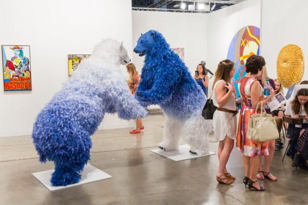 Art Basel Miami. Galerie Perrotin © Art Basel