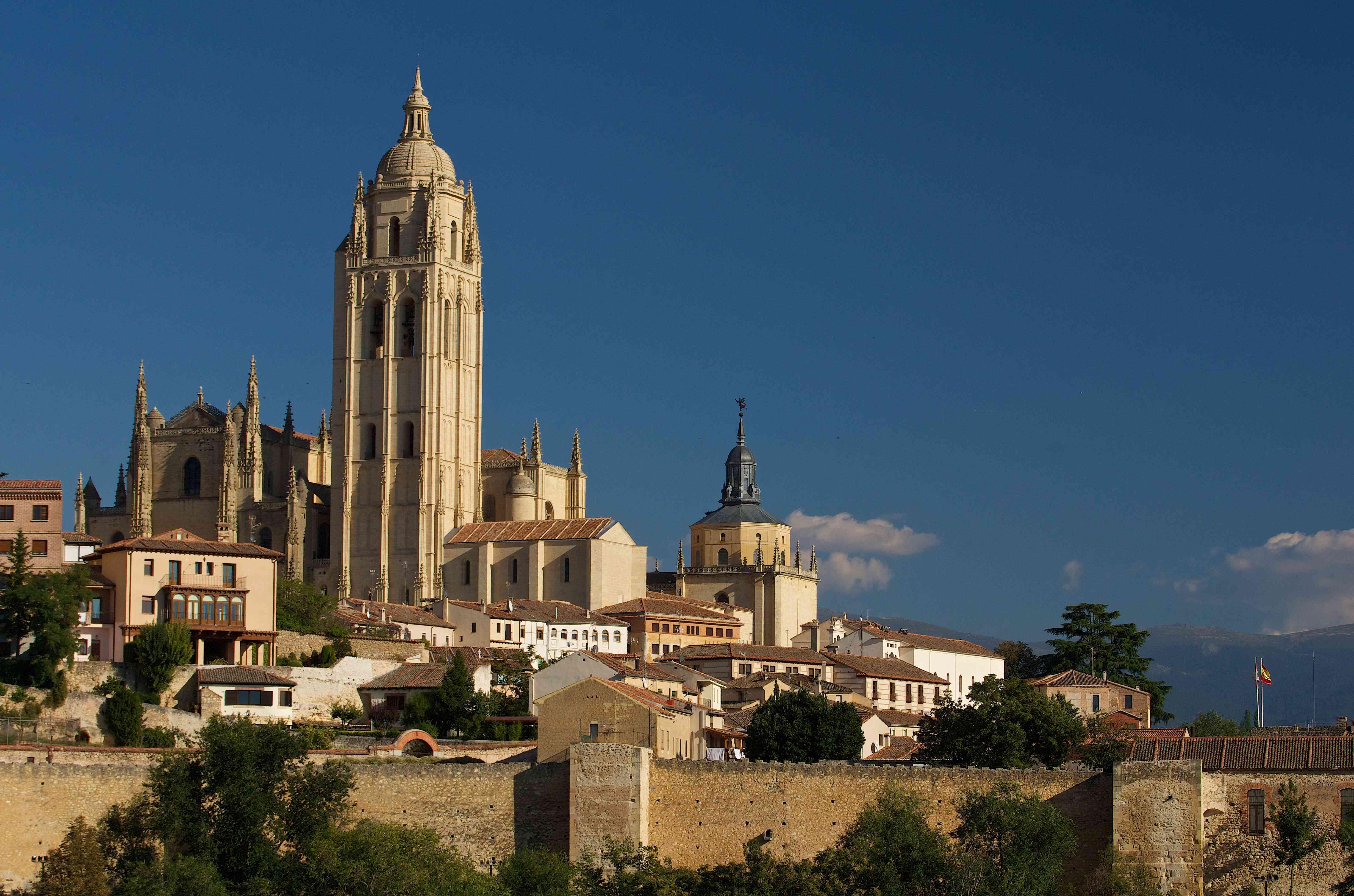 Spain, Castilla & Leon, Segovia, Catedral de Segovia