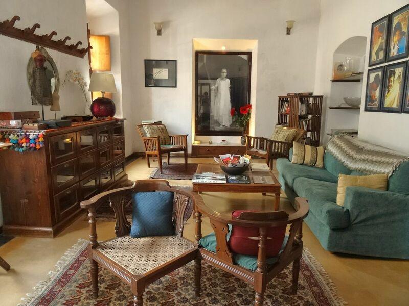 Interior of the Gratitude Hotel