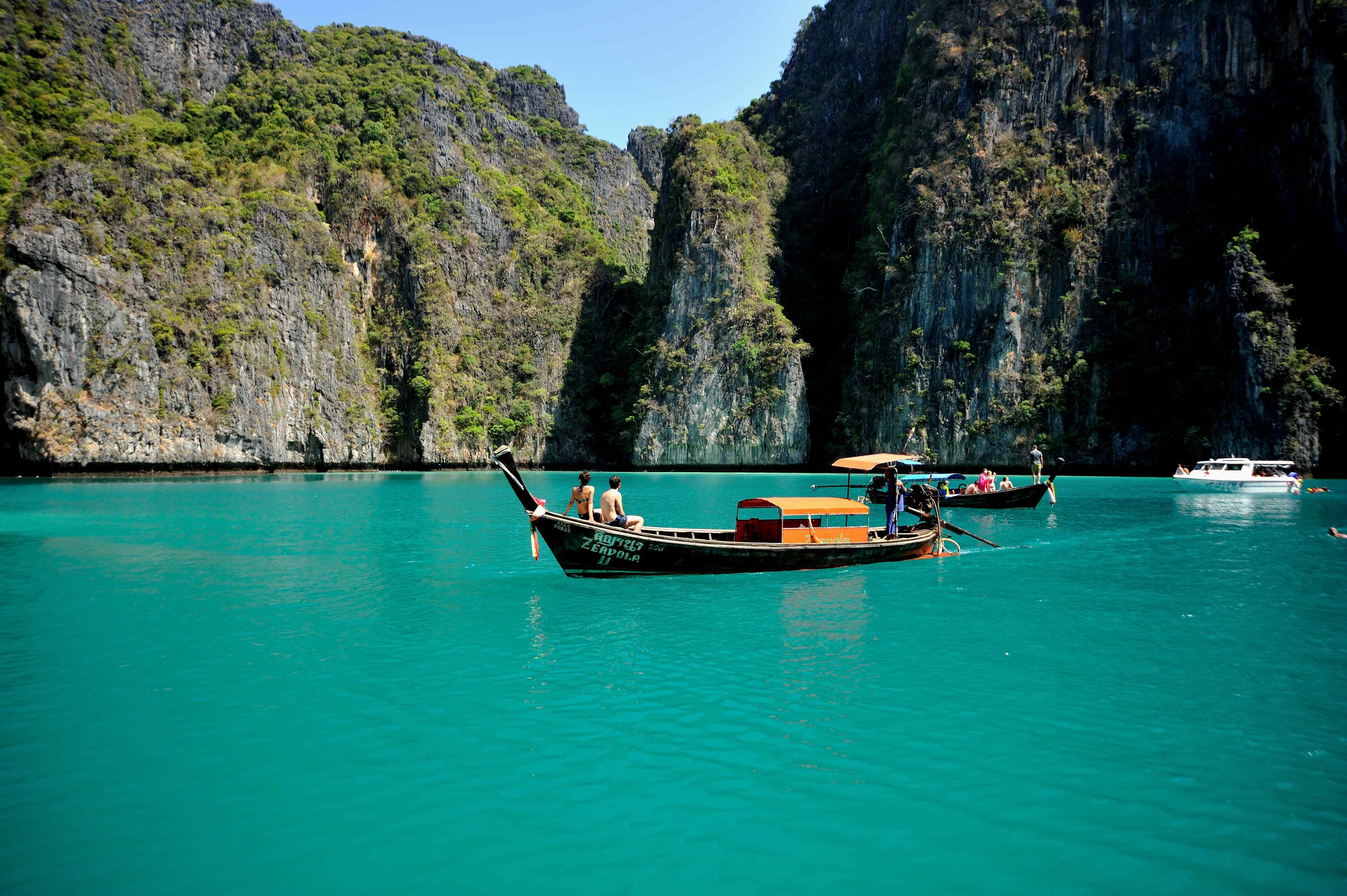Koh Phi Phi Beach, Thailand.