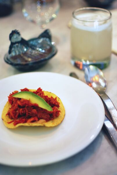 Agua y Sal Restaurant -Tostadas