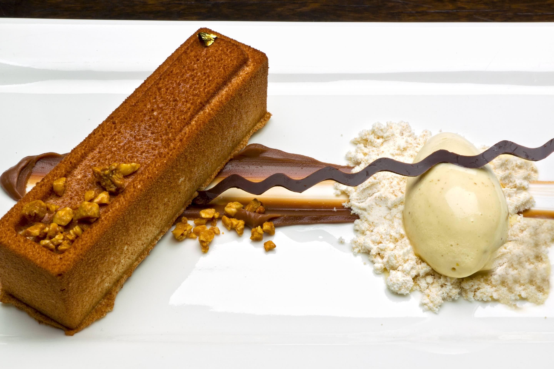 Chocolate Peanut Bombe