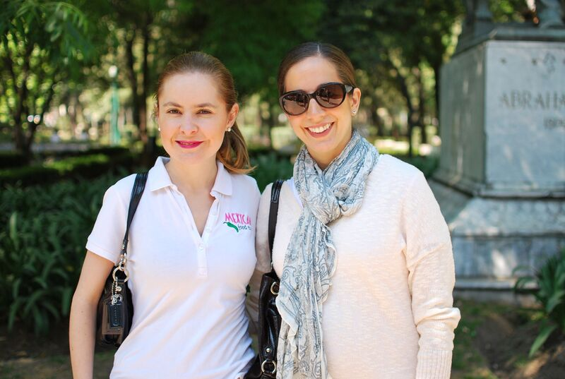 Connie Estefan and Jimena Gill from Mexico Food Tours