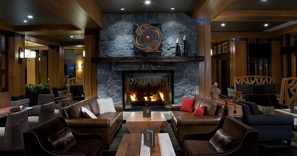 The Nita Lake Lodge Lobby - boldmagazine