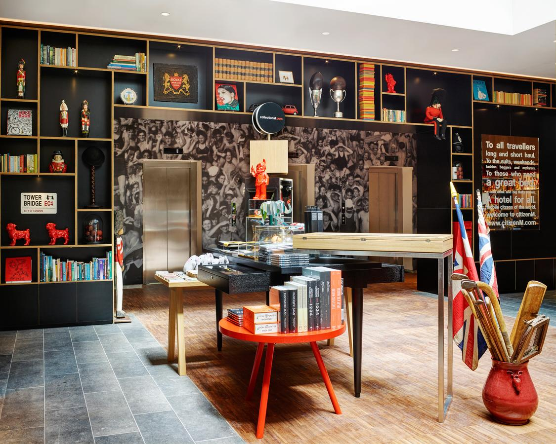 The Hotel: citizenM Tower of London hotel