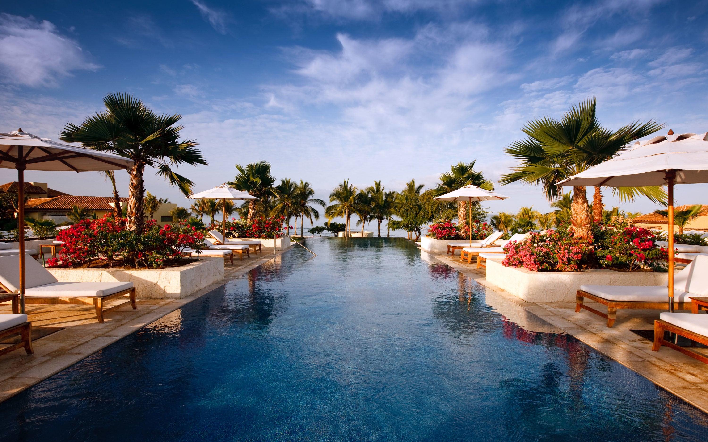 Sea Breeze Pool, St Regis, Punta Mita.