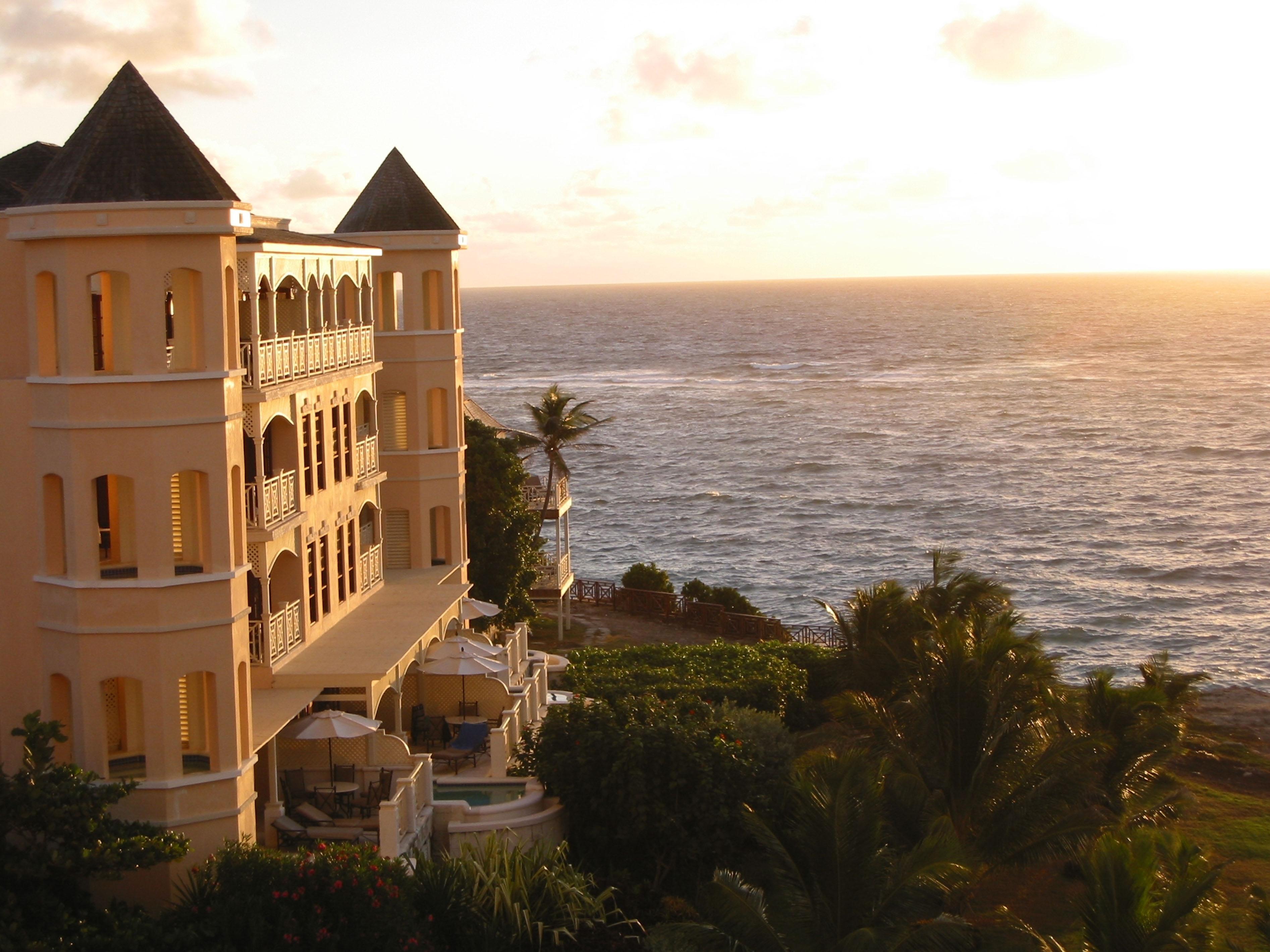 Sunrise at The Crane Resort, Barbados.