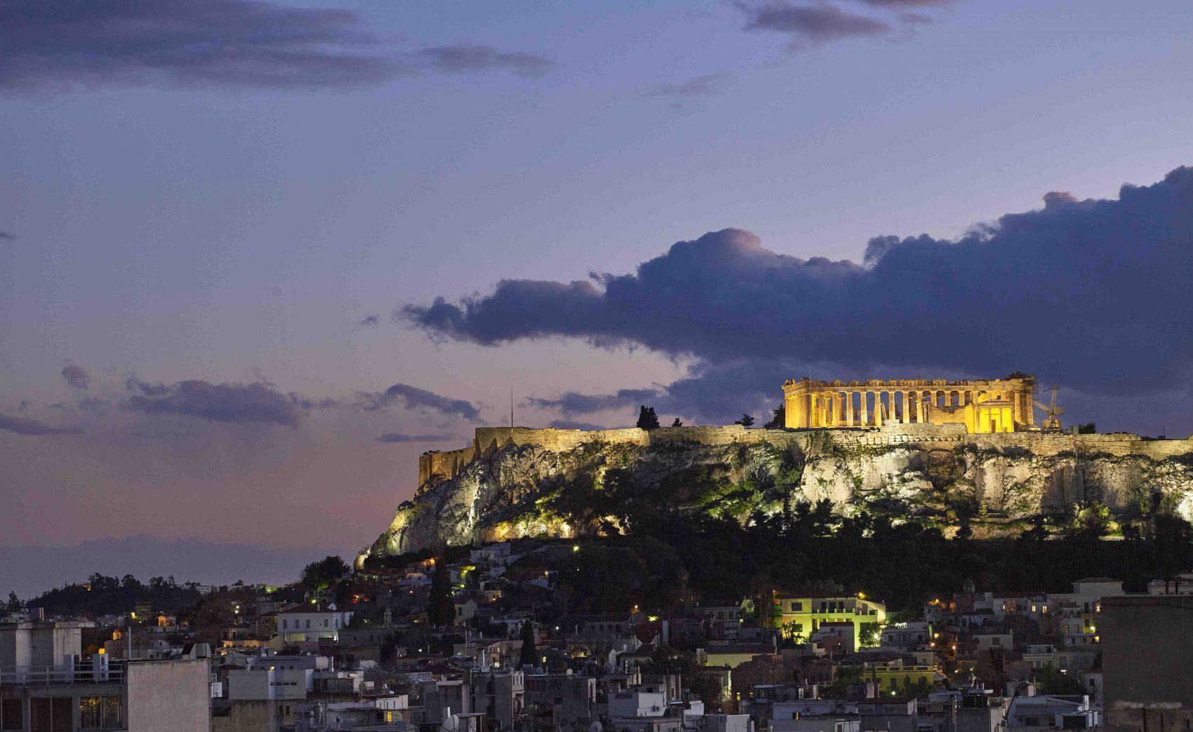 GREECE'S ACROPOLIS