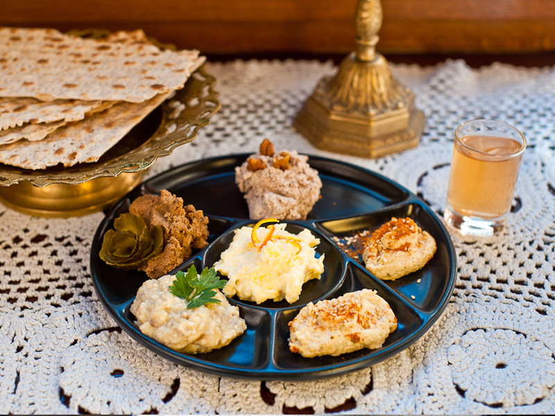 GALICIAN JEWISH AND MIDDLE EASTERN CUISINE—HUMMUS, KOFTA AND CHICKEN SOUP
