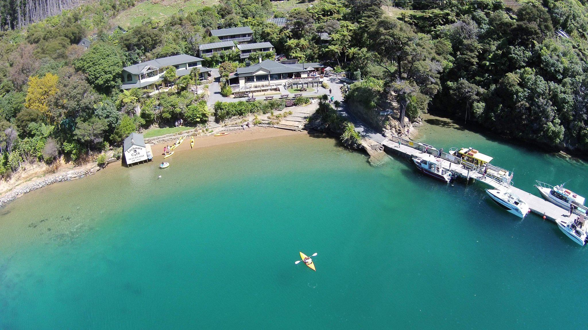 NEW ZEALAND: Lochmara Lodge, Marlborough Sounds