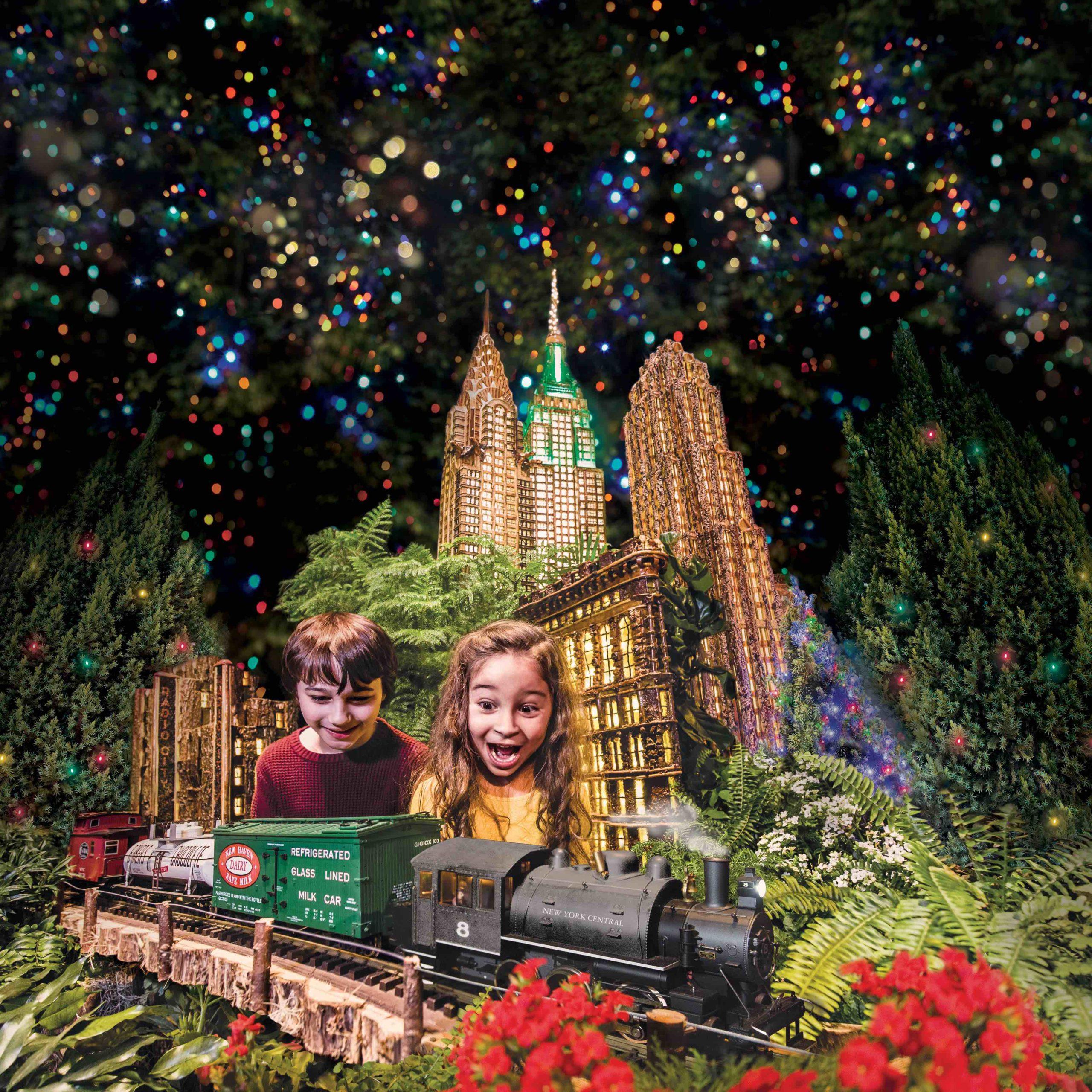 5. New York Botanical Garden Holiday Train Show