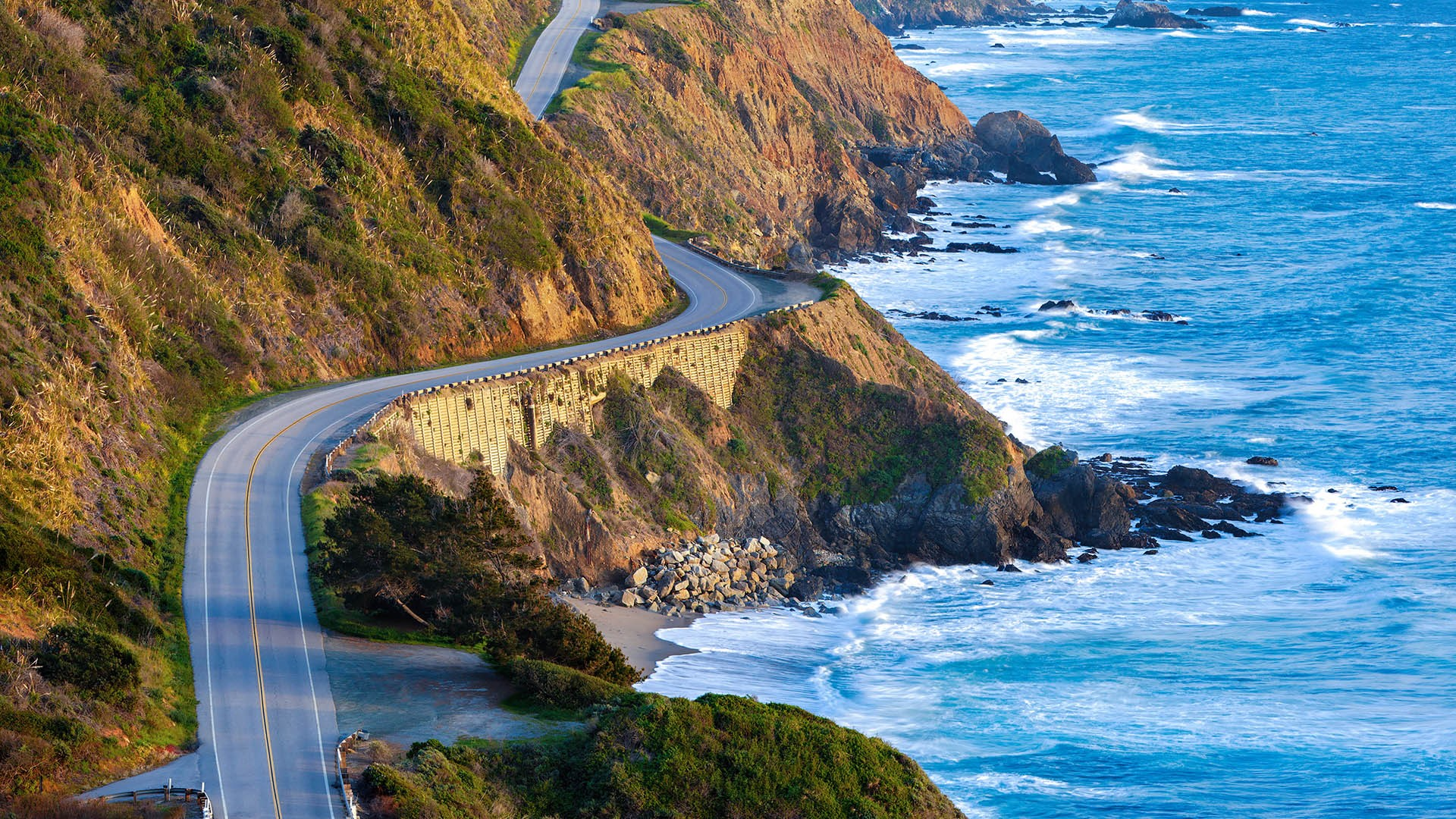 4. Pacific Coast Highway, USA