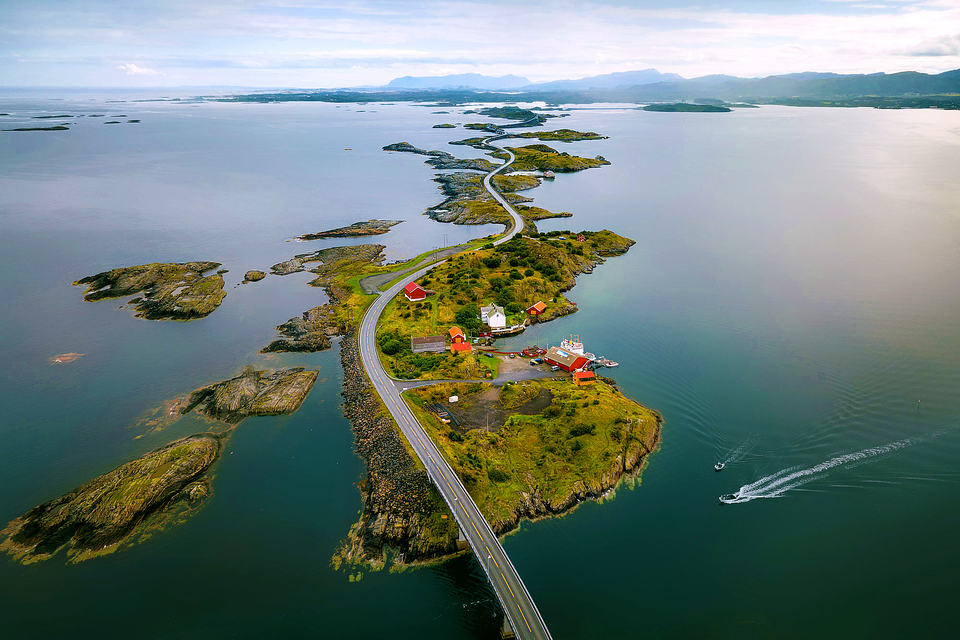 1. Atlantic Ocean Road, Norway