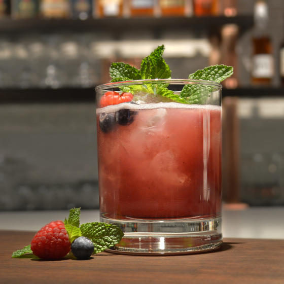Drink it with: BERRY JULEP