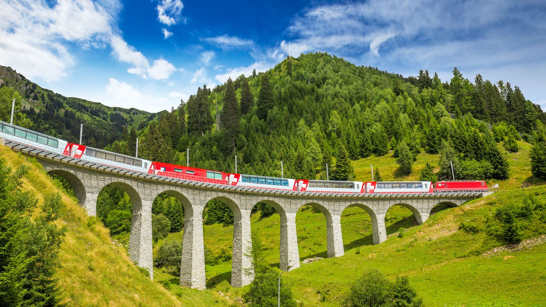 10. Train Travel