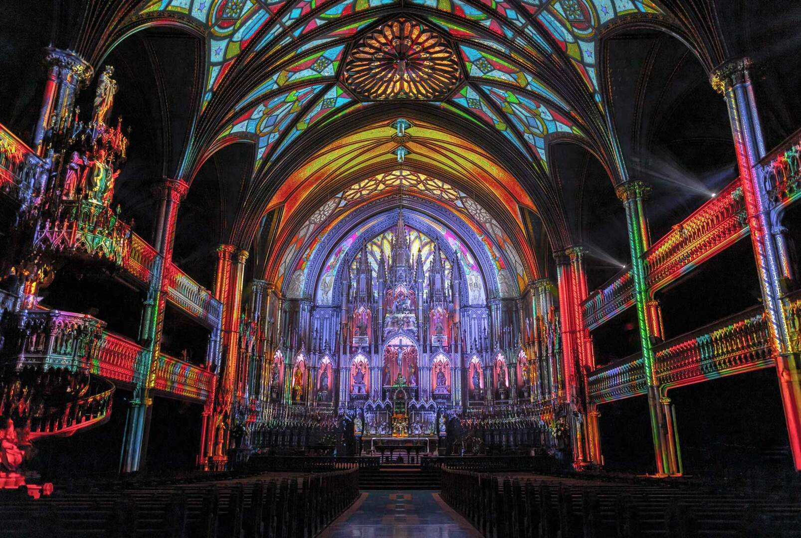 SEE: The Notre-Dame Basilica