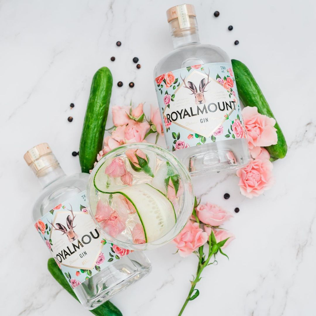 SUMMER SIPPING: Royalmount Gin